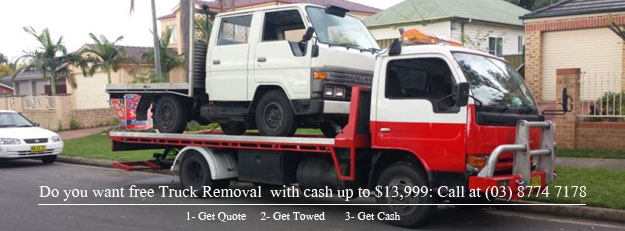 Free Truck Removal Service with Cash for Trucks Melbourne